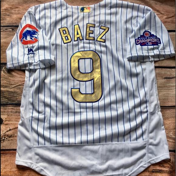sale retailer 7c463 cd130 Javier Baez Chicago Cubs Jersey NWT